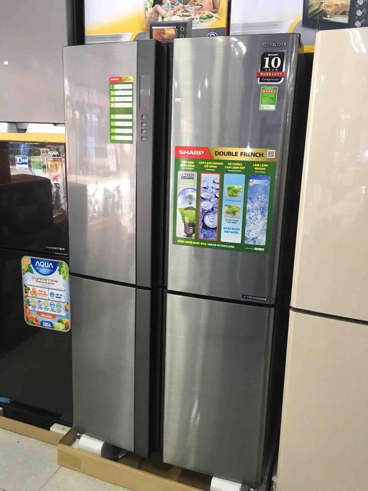 Cách sửa tủ lạnh Sharp tại nhà các lỗi thường gặp Chuyên Nghiệp