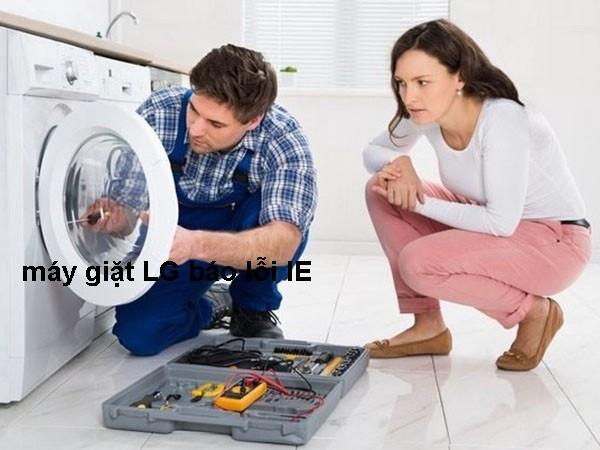 5 Cách sửa máy giặt LG báo lỗi IE ai cũng có thể sửa được