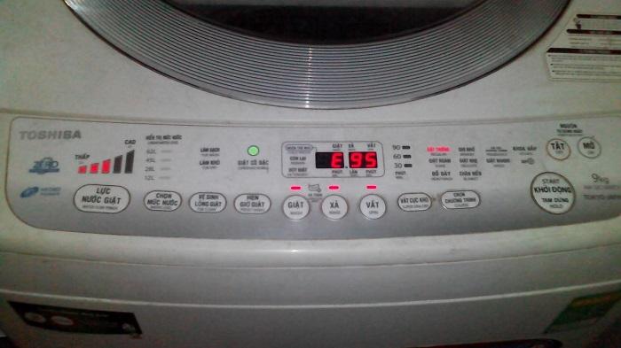 Máy giặt Toshiba báo lỗi E95 khắc phục tại nhà triệt để 100%