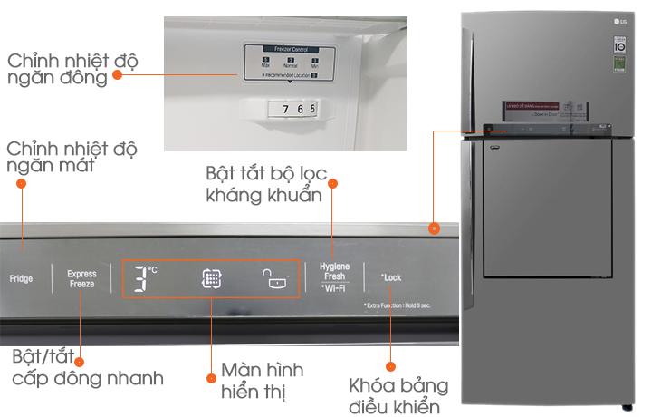 Bảng mã lỗi tủ lạnh LG Inverter nháy đèn chính xác 100%