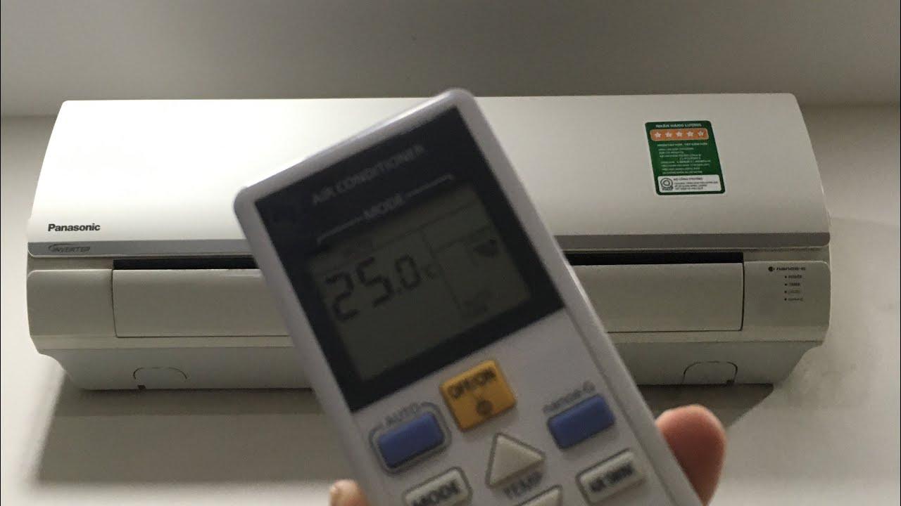 Lỗi điều hòa Panasonic nháy đèn timer 2 lần và cách khắc phục A- Z