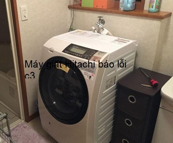 Máy giặt Hitachi báo lỗi C3: Nguyên nhân và cách xử lý từ A - Z