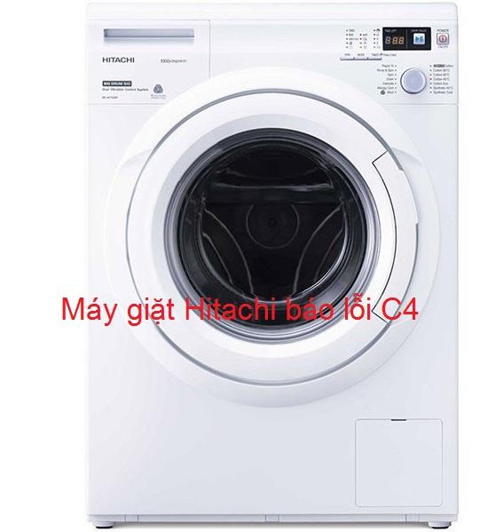 3 cách xử lý máy giặt Hitachi báo lỗi C4 tại nhà không cần gọi thợ