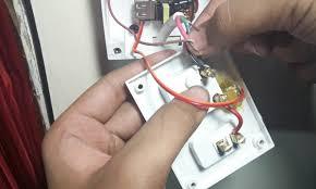 máy giặt không vào điện do nguồn điện không ổn định
