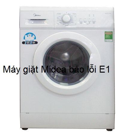 4 bước xử lý máy giặt Midea báo lỗi E1 chỉ trong 30 phút