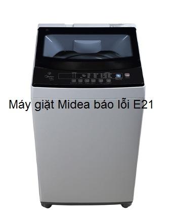 máy giặt midea báo lỗi e21