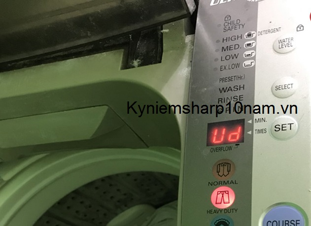 Máy giặt Sanyo báo lỗi Ud là bị sao? Cách sửa tại nhà chuẩn 100%