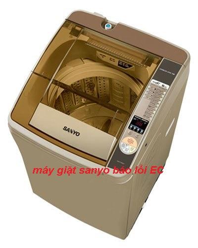 Máy giặt Sanyo báo lỗi EC: 4 cách xóa mã lỗi thành công tại nhà