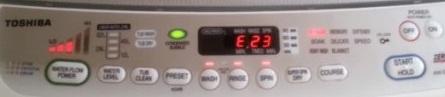 Cách khắc phục máy giặt Toshiba báo lỗi E23 (E2-3) tại nhà
