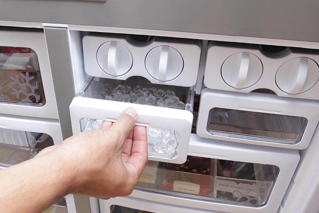 tủ lạnh bị chảy nước ngăn đá