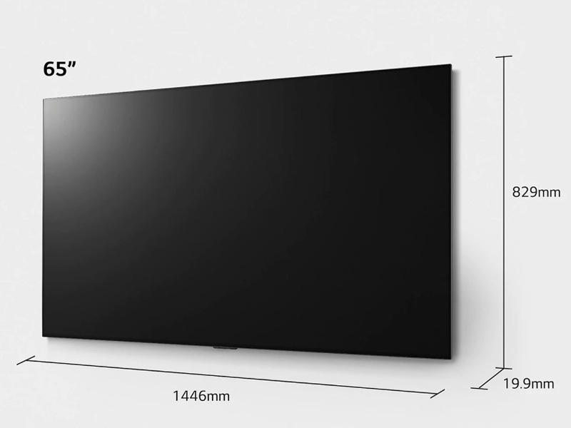 Kích thước tivi 65 inch LG, Samsung, Sony, TCL chi tiết từ A - Z