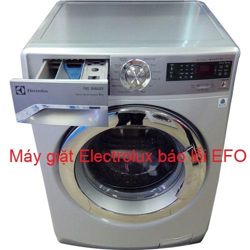 [Máy giặt Electrolux báo lỗi EFO] xử lý tại nhà không cần gọi thợ