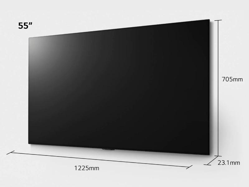 Kích thước tivi 55 inch Samsung, LG, Sony, TCL chính xác 100%