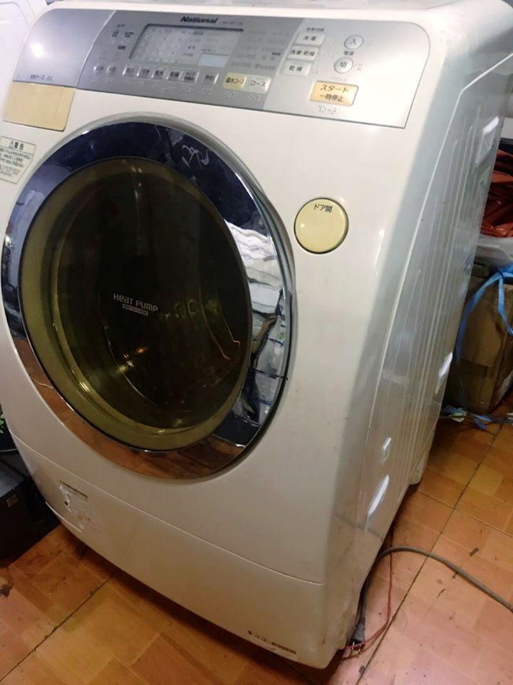 máy giặt National báo lỗi u11, u12, u13, u14, u18