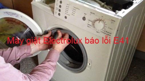 Máy giặt Electrolux báo lỗi E41 xử lý  tại nhà chỉ 15 phút