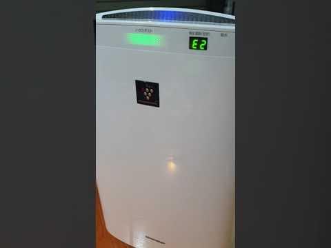 Máy lọc không khí Sharp báo lỗi E2, C1, C8 là lỗi gì? Cách xử lý tại nhà