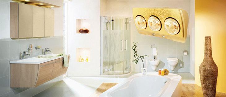 Top 5 đèn sưởi nhà tắm giá rẻ, tiết kiệm điện, tốt nhất năm 2021