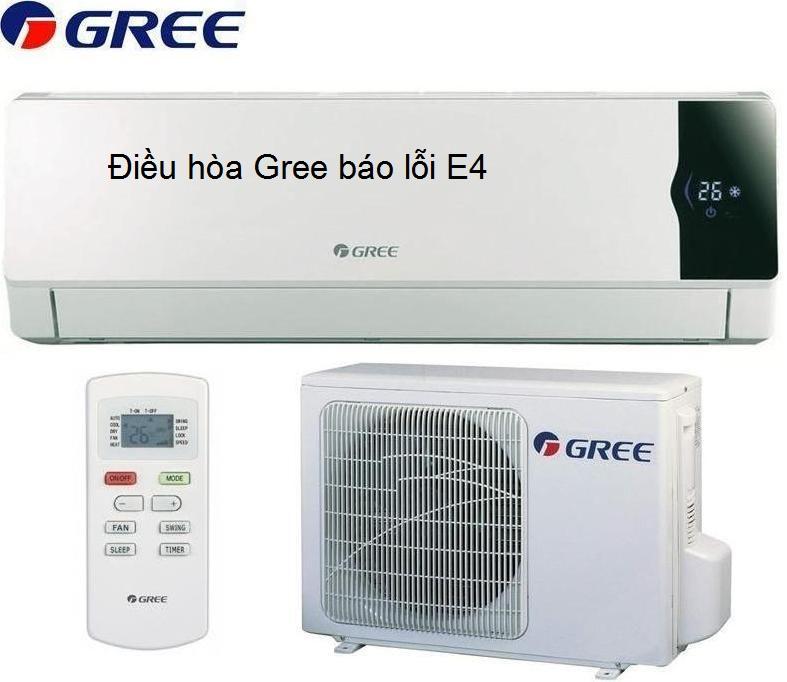 Điều hòa Gree báo lỗi E4: Nguyên nhân và cách khắc phục từ A - Z