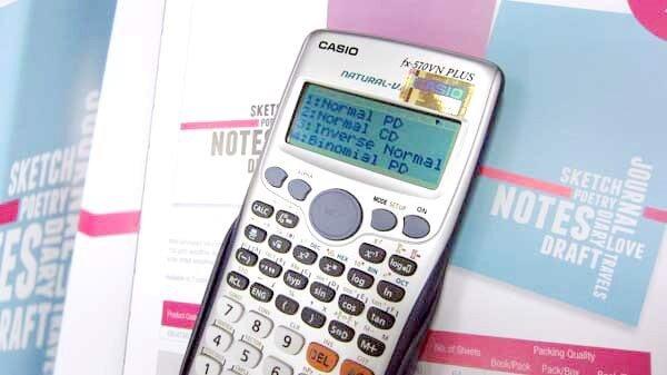 Cách giải toán bằng máy tính Casio fx 570vn plus chi tiết từ A - Z