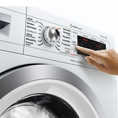 Cách sử dụng máy giặt Bosch đúng cách, tiết kiệm điện năng
