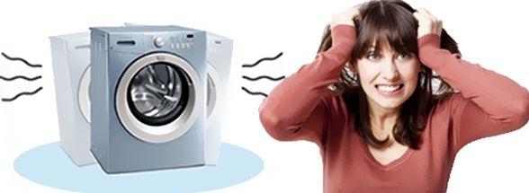 Máy giặt bị rung lắc mạnh khi vắt khắc phục chỉ 30 phút