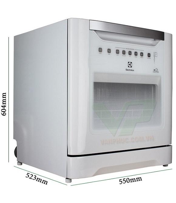 Kích thước máy rửa bát độc lập Electrolux