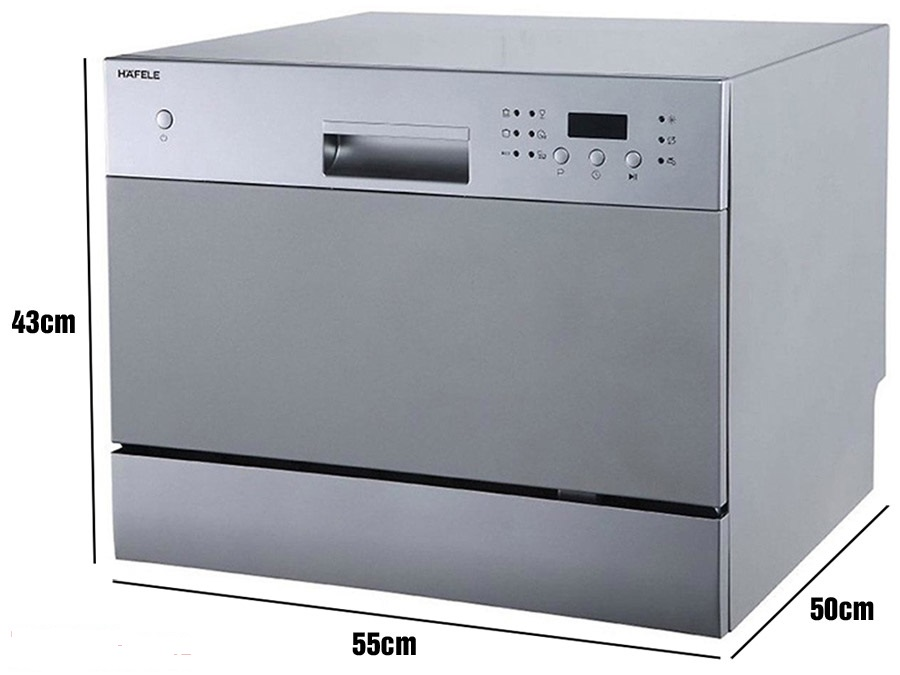 Kích thước máy rửa bát Bosch, Hafele, Electrolux, Teka chuẩn 100%