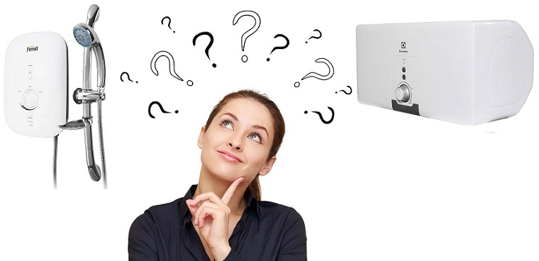 Nên mua máy nước nóng trực tiếp hay gián tiếp? [Chuyên gia tư vấn]