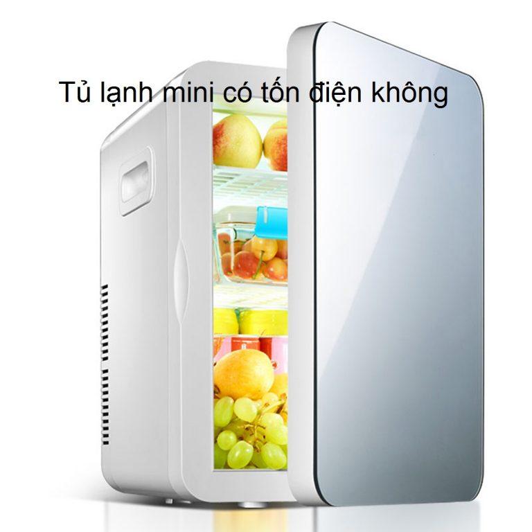 Tủ lạnh mini có tốn điện không? 1 tháng hết bao nhiêu số điện, tiền điện?