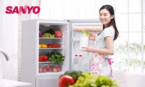 [Giải đáp] Tủ lạnh Sanyo có tốt không? Có tốn điện không?