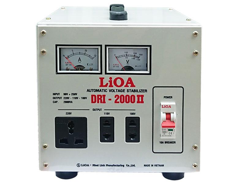 Ổn áp LiOA 1 pha 2kVA DRI-2000II