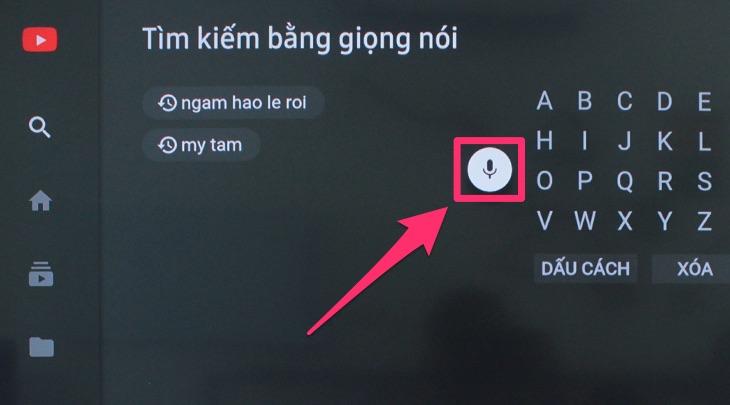 Cách tìm kiếm giọng nói trên tivi Samsung thành công 100%