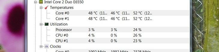 Cách kiểm tra nhiệt độ CPU bằng HWMonitor4