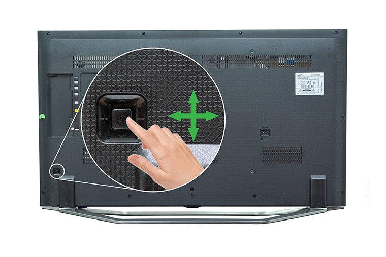Cách mở tivi Samsung không cần điều khiển.jpg