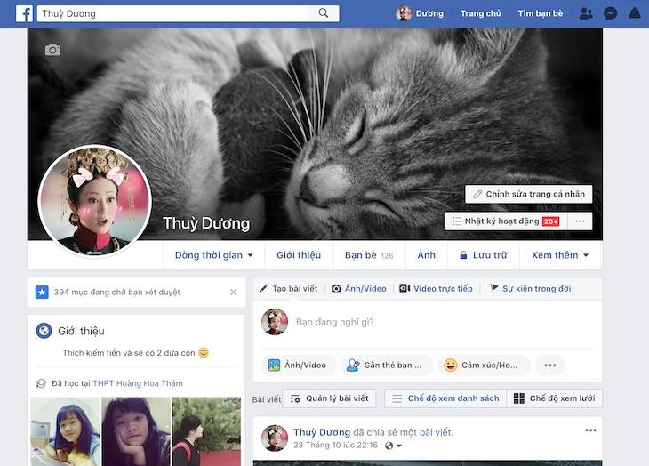 Cách xem ai vào facebook của mình nhiều nhất bằng máy tính