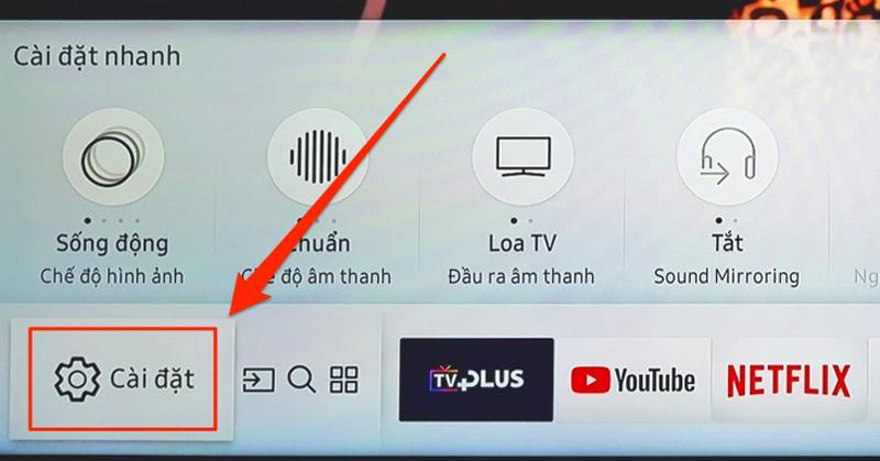 Tivi Samsung không vào được Youtube11