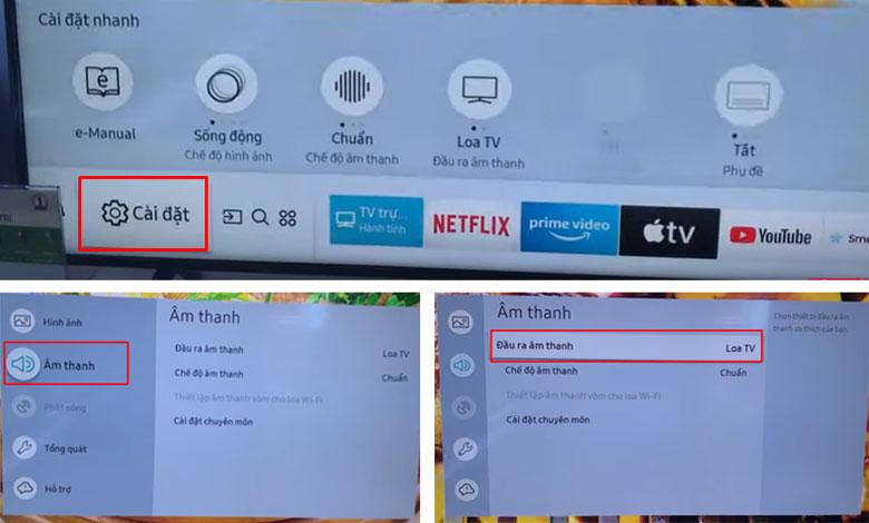 Cách bật bluetooth trên tivi Samsung chi tiết từ A - Z