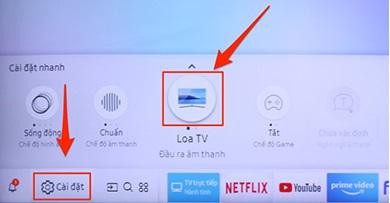 cách kết nối tivi Samsung với Amply bằng bluetooth