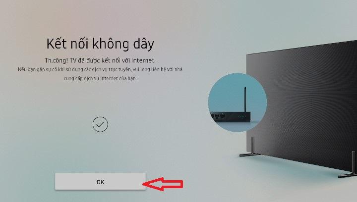 cách kết nối wifi cho tivi samsung6