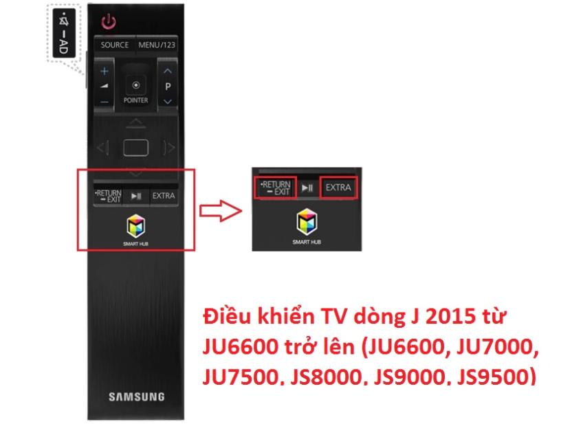 cách khắc phục tivi không nhận điều khiển2