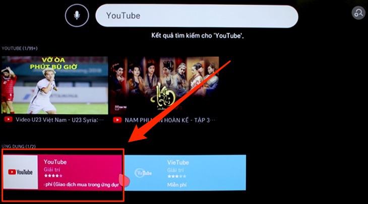 cách khắc phục tivi lg không vào được youtube10