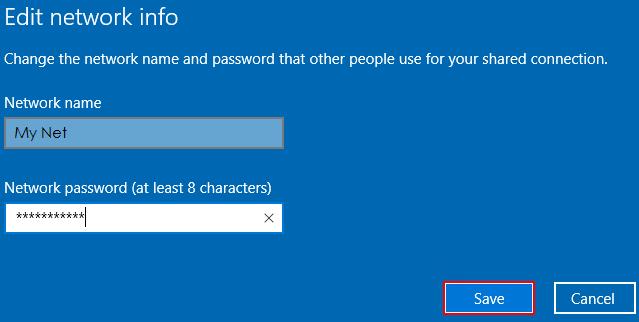 cách phát wifi từ laptop Win 102