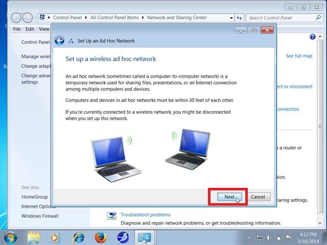 Cách phát Wifi từ laptop Win 7, Win 10 thành công 100%