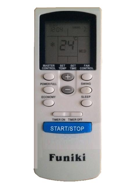 Cách sử dụng điều khiển điều hòa Funiki 1 chiều, 2 chiều chính xác 100%