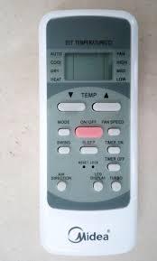 Cách sử dụng điều khiển điều hòa Midea 1 chiều, 2 chiều chính xác 100%