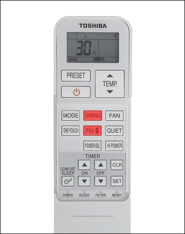 Cách sử dụng điều khiển điều hòa Toshiba chi tiết từ A - Z