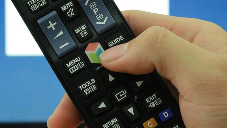 cách sử dụng điều khiển tivi samsung1