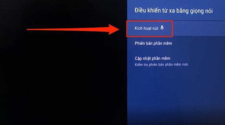 cách tìm kiếm giọng nói trên tivi Sony đúng cách3