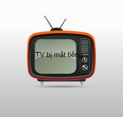 tivi bị mất tiếng