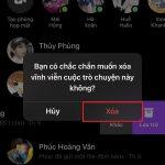 Cách xóa tin nhắn trên Messenger 2 bên vĩnh viễn trên điện thoại, PC